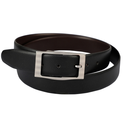 Azibo Casual, Party, Formal, Evening Black, Brown Texas LeatherIite Reversible Belt