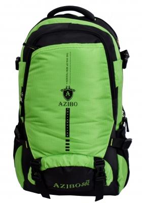 Turbo Hiking Trekking,Camping Travel Backpack Rucksack - 50 L  (Green, Black)